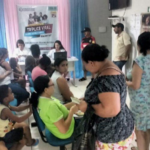Saúde de Alagoinha do Piauí intensifica campanha de vacinação contra o sarampo