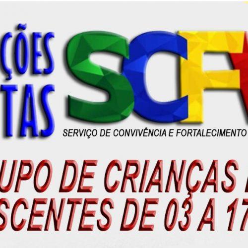 Social de Francisco Macedo abre inscrições para o Serviço de Convivência e Fortalecimento de Vínculos