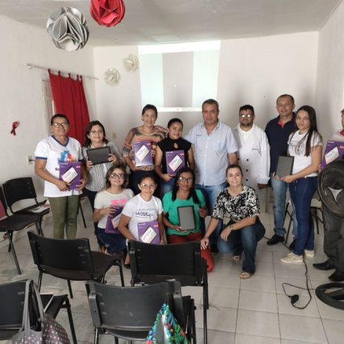 ACS e ACE de Francisco Macedo recebem tablets e participam de capacitação