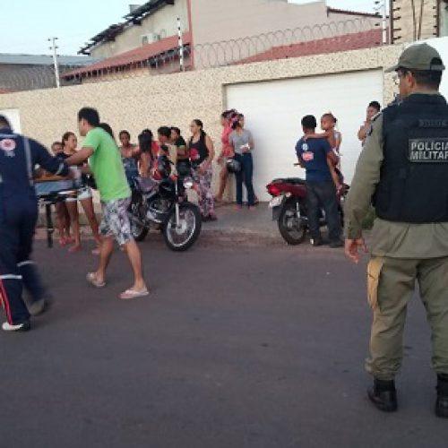 Mulher morre e seu esposo fica gravemente ferido após acidente no Piauí