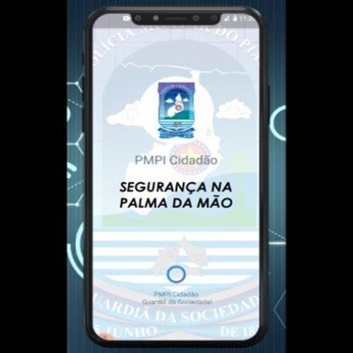 Segurança adotará aplicativo para agilizar atendimentos Polícia Militar do Piauí