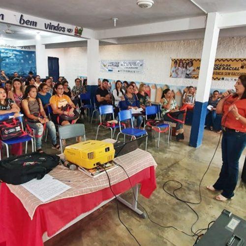 Jornada Pedagógica abre o ano letivo na Rede Municipal de Campo Grande do Piauí