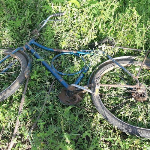 Mulher em bicicleta é colhida por ônibus e morre na BR-135