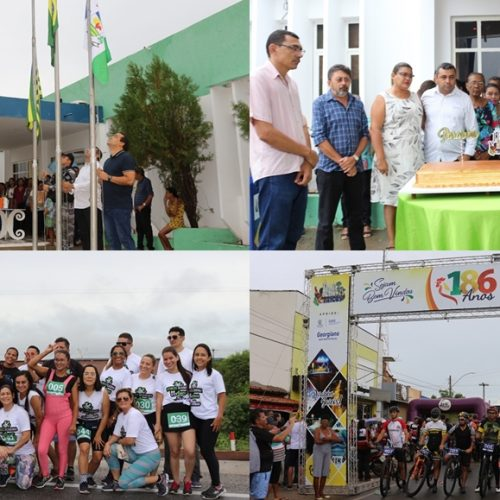 JAICÓS 186 ANOS | Fotos de atividades cívicas, corte do bolo, corridas e circuito de mountain bike