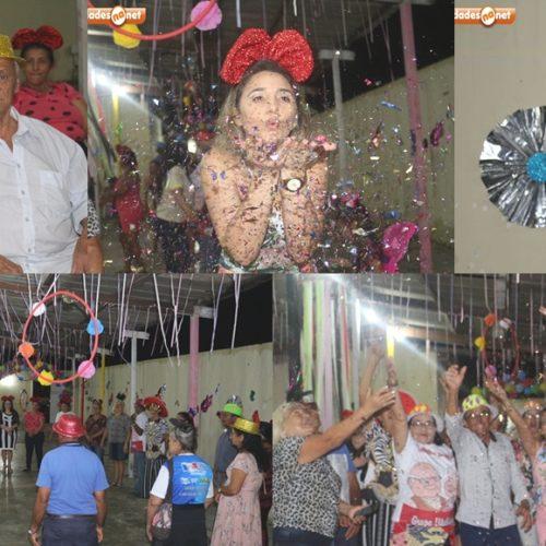 Social de Campo Grande do PI promove festa de carnaval para idosos do SCFV