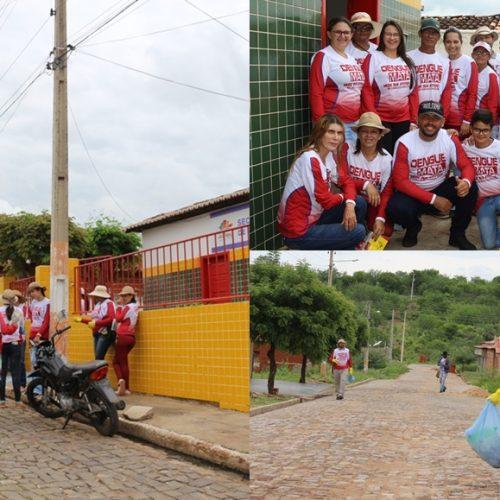 Saúde de Jacobina do Piauí inicia mutirão em combate aoAedes Aegypti
