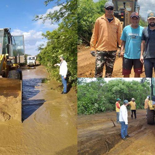 JACOBINA | Prefeitura realiza serviços de terraplanagem na comunidade rural Chapadinha