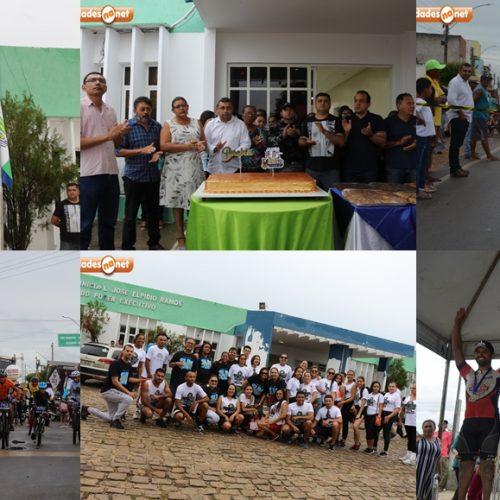 JAICÓS 186 ANOS | No dia do aniversário, ato cívico, corte do bolo e atividades esportivas são realizadas pelo governo municipal