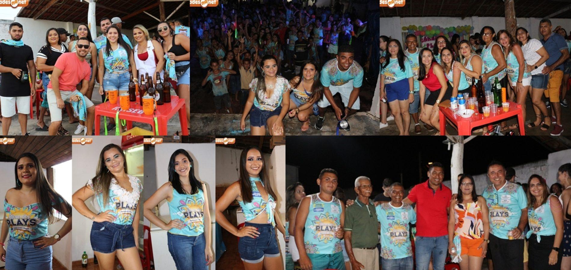 Confira as fotos da festa do Bloco dos Plays em Patos do Piauí