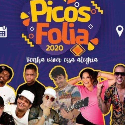 Secretaria de Cultura divulga atrações do Picos Folia 2020