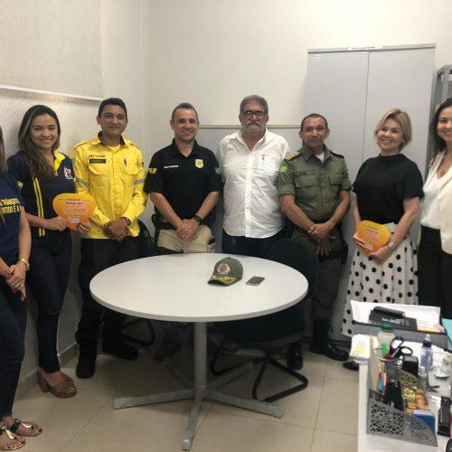 Ministério Público e órgãos de segurança definem atuação no carnaval de Picos
