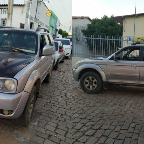 Força Tática de Paulistana apreende carro de luxo com registro de apropriação indébita