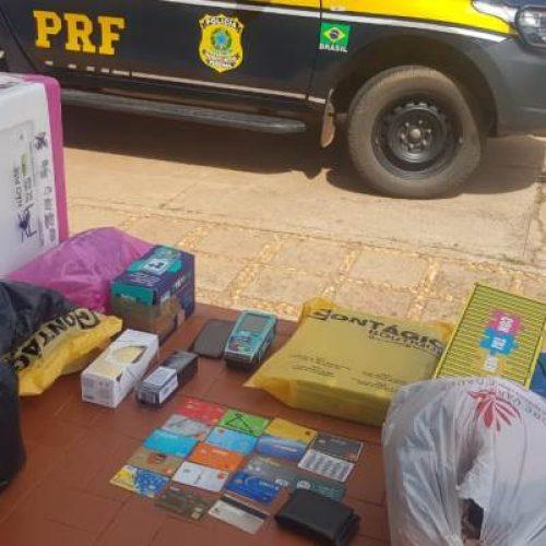 PRF prende casal de estelionatários em Picos