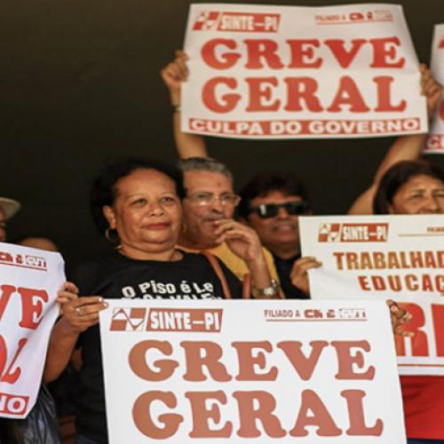 Governador afirma que haverá corte no ponto dos grevistas da Educação