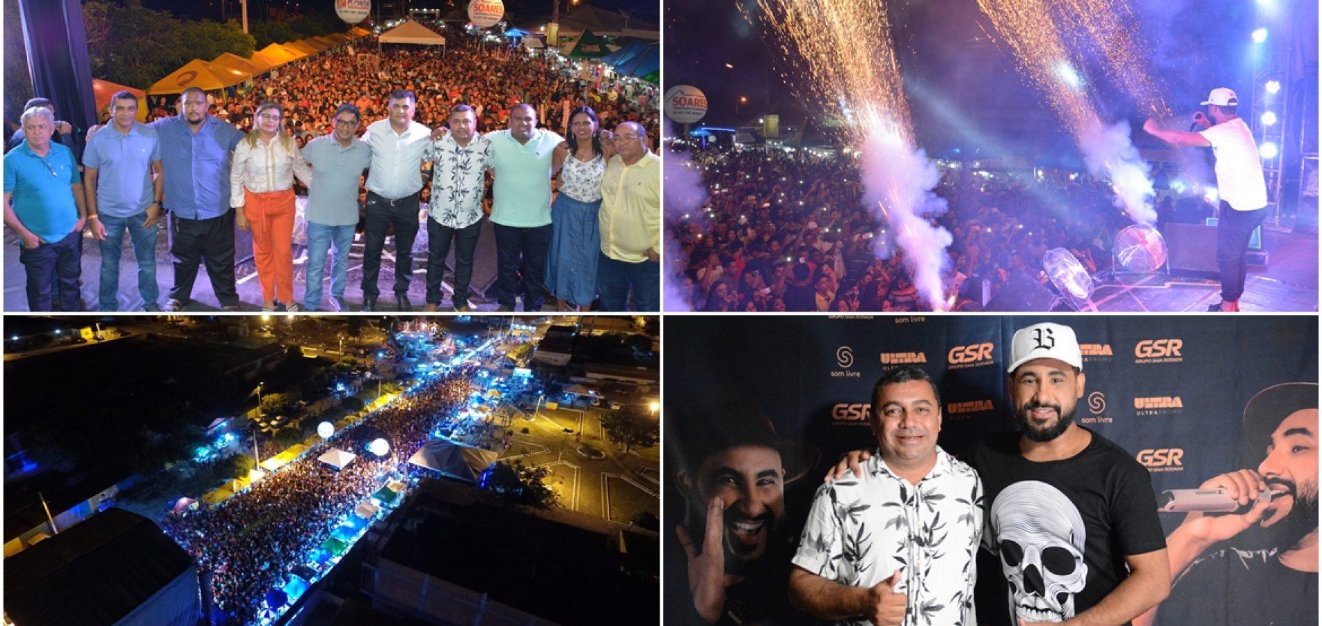 JAICÓS 186 ANOS | Veja fotos dos shows de Saia Rodada, Caviar com Rapadura e Orlando Estourado