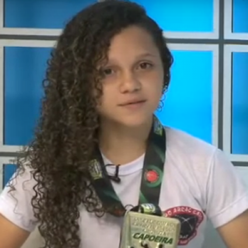 "Piauiense de 15 anos ganha mundial de capoeira: ""me consagrei campeã"""