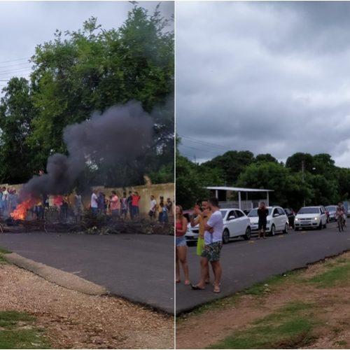 Moradores bloqueiam PI 112 por falta de energia em povoado