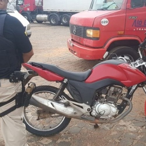 Moto com mais de R$ 12 mil em débitos e 36 infrações de trânsito é apreendida em Teresina
