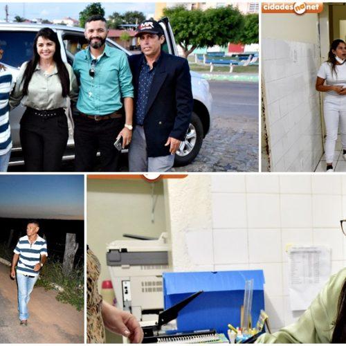Teresa Britto cobra melhorias no HRMPF e visita obras inacabadas em Paulistana; veja fotos