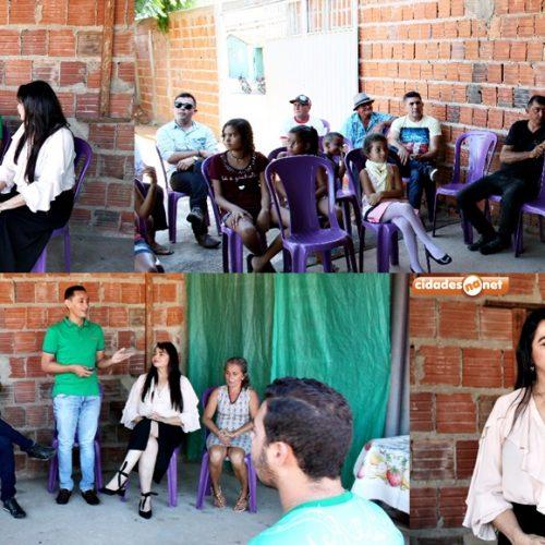 ALAGOINHA | Deputada Teresa Britto visita os Verdes, oficializa pré-candidatura de Salomé e destina emenda
