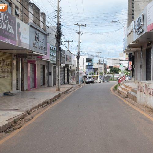 Prefeitura de Picos segue decreto estadual e mantém comércio fechado este final de semana