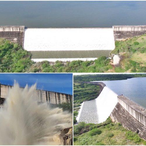 Após 4 anos, barragem Poço de Marruá transborda em Patos do Piauí; veja imagens