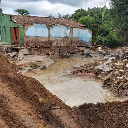 PI   Mais de 400 famílias foram atingidas pelas chuvas em Piripiri; 62 estão desabrigadas