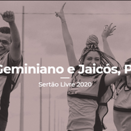 Impacto Sertão Livre iniciará dia 19 de julho em Jaicós e Geminiano; inscrições abertas!