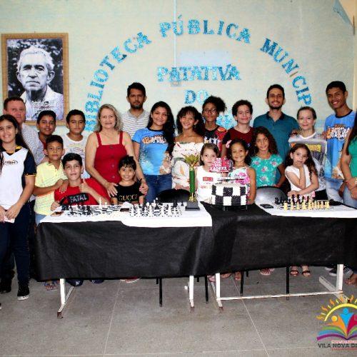 Enxadrista campeã do II CPX é recepcionada no encontro de xadrez em Vila Nova do Piauí; fotos
