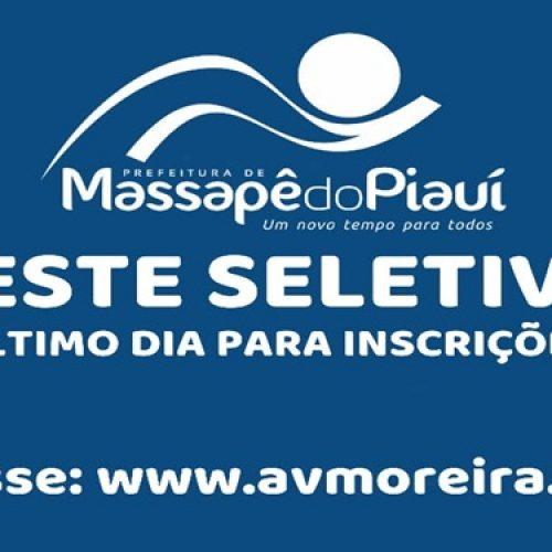 Inscrições para seletivo da Prefeitura de Massapê encerram hoje (13)