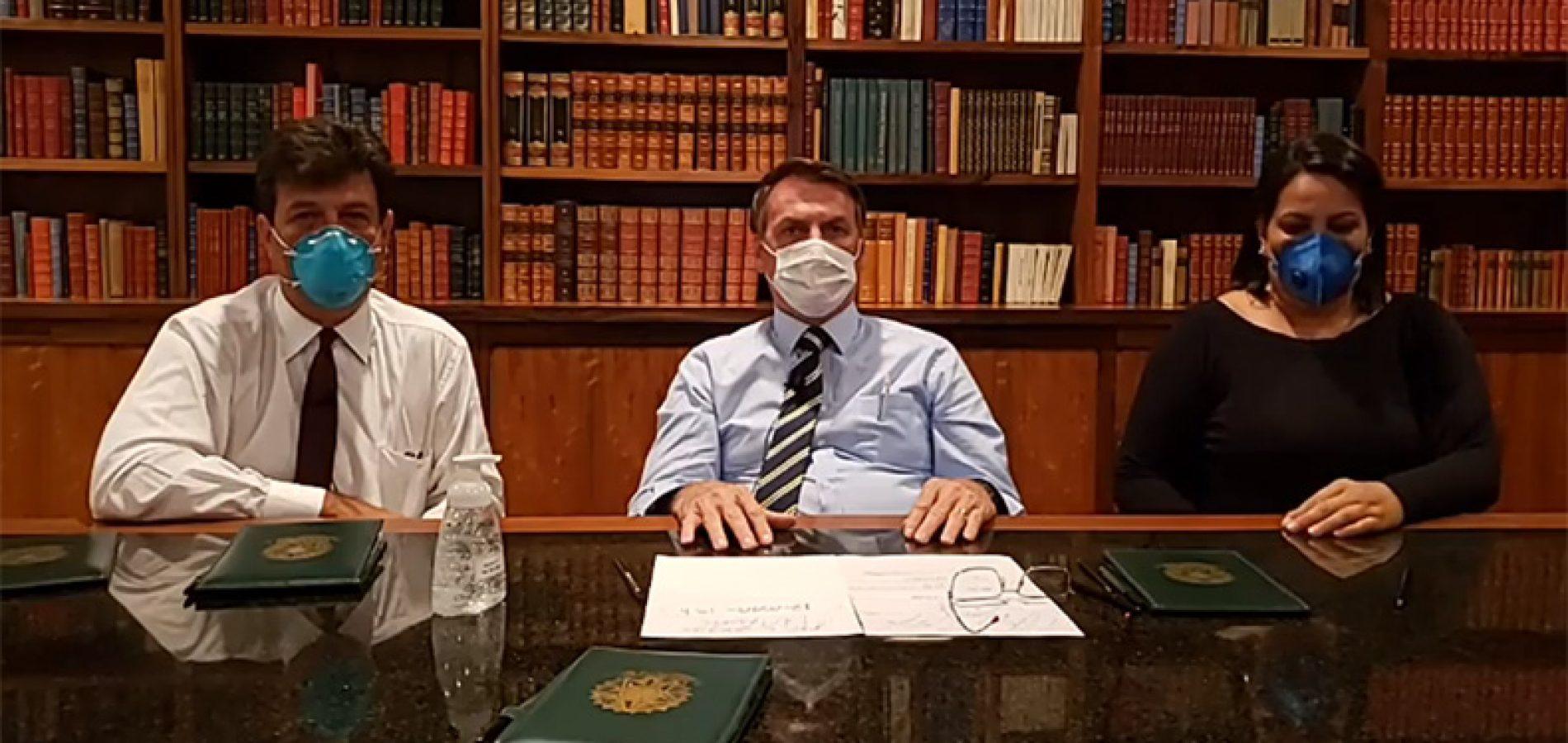 Ao menos 6 pessoas que encontraram Bolsonaro estão com o novo coronavírus