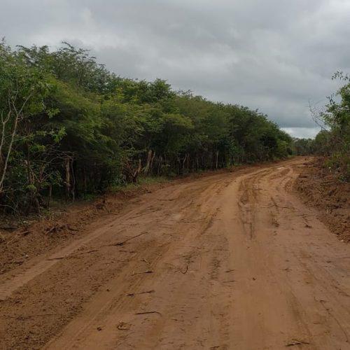 SANTANA | Prefeitura abre estrada vicinal que interliga comunidades à sede do município