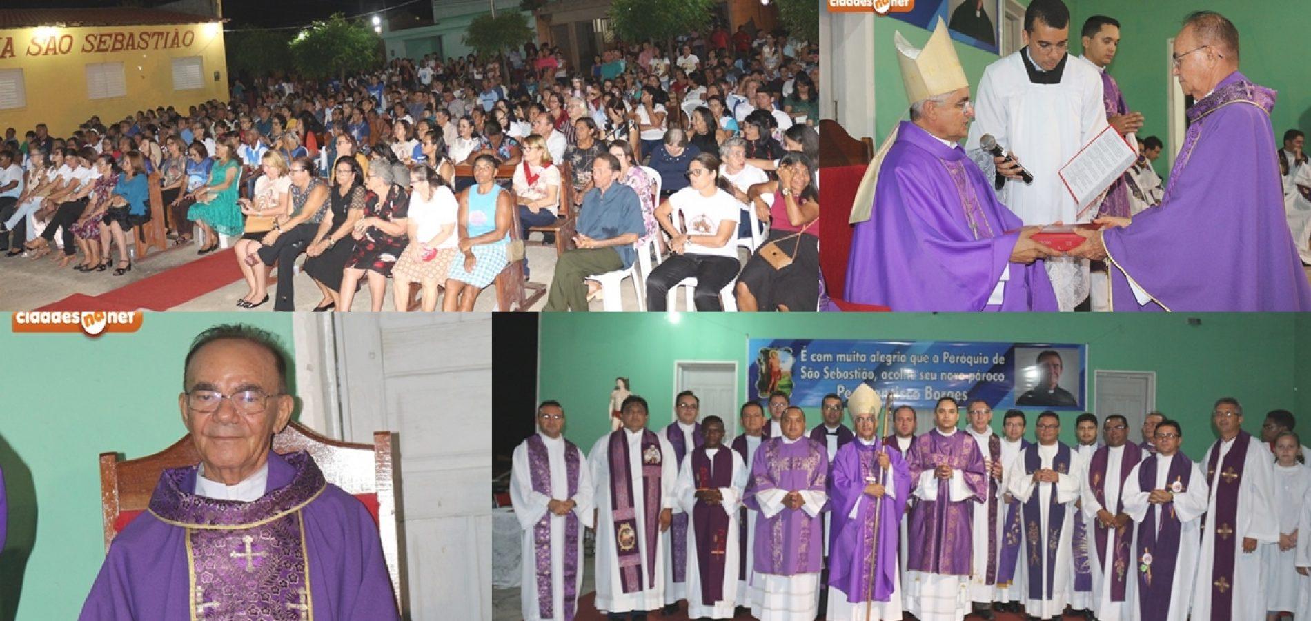 PATOS | Padre Chiquinho é empossado como novo pároco da Paróquia São Sebastião