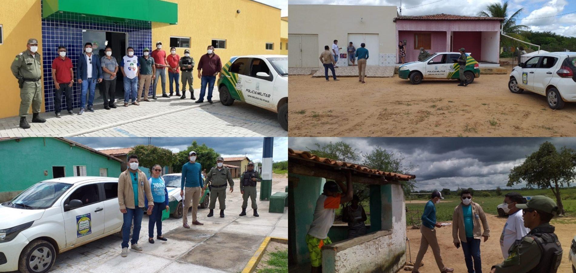 Prefeitura de Belém do Piauí intensifica ações preventivas ao coronavírus