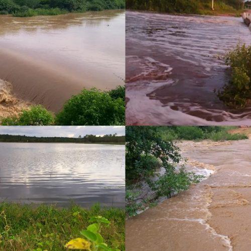 Após chuvas intensas, rios registram cheias na zona rural de Massapê do Piauí
