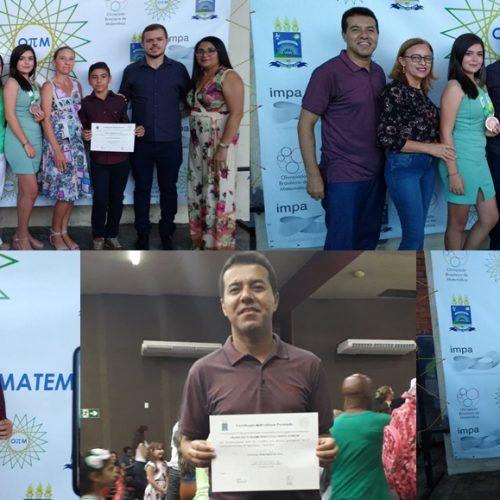 Em Teresina, alunos e professor de Massapê do PI são premiados na Olimpíada Piauiense de Matemática