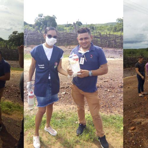 Prefeitura de Vera Mendes realiza barreira sanitária na entrada da cidade em prevenção ao coronavírus
