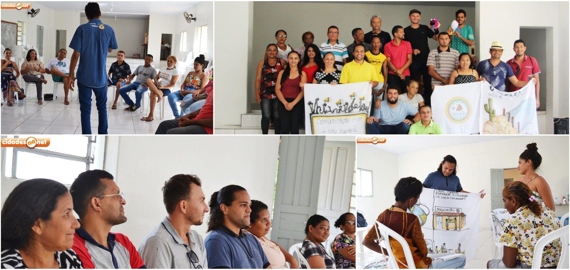 JAICÓS | Lideranças de instituições de vários municípios participam de formação realizada pelo IRPAA