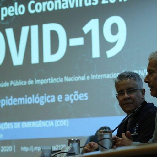 Brasil tem 141 novas mortes por coronavírus em 24 horas; total é de 941