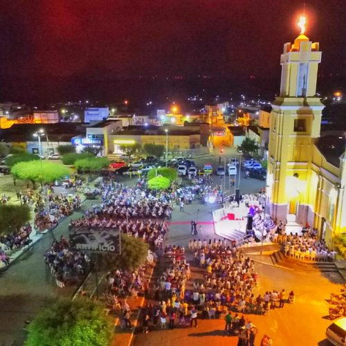 FOTOS   Posse canônica do padre Edivaldo Silva na Paróquia de São Simão, em Simões