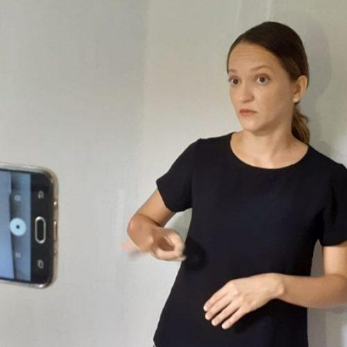 Intérpretes de Libras da UFPI produzem vídeos sobre o coronavírus para surdos