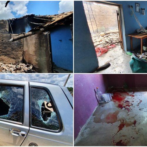 Homem que destruiu casa no interior de Jaicós e esfaqueou tio da esposa é preso em Belém do Piauí