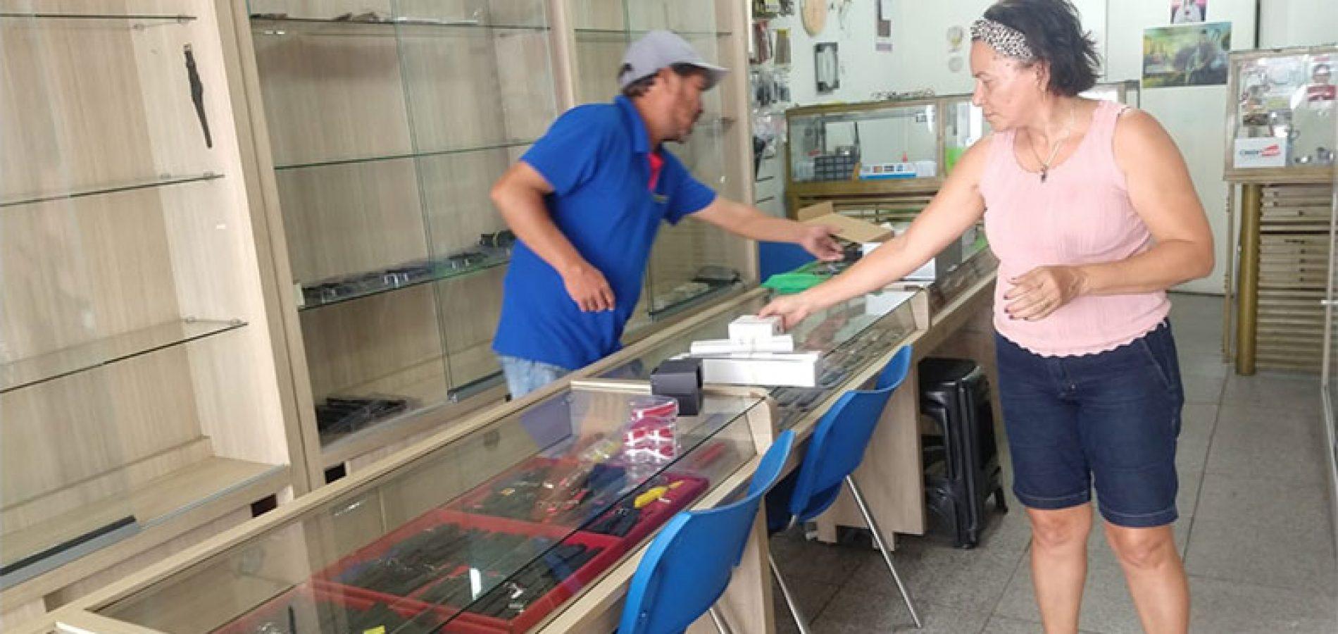 Assaltantes aproveitam fechamento de lojas e fazem série de arrombamentos no Piauí