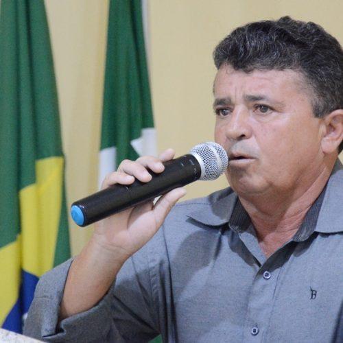 Vereador solicita sistema de distribuição de água para comunidades rurais de Belém do Piauí