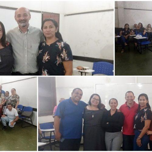 Profissionais da Educação de Francisco Macedo participam da 4ª Formação do Currículo do Piauí, em Teresina