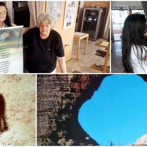 ALEGRETE | Professora Vilma Araújo homenageia Niède Guidon pelo aniversário de 87 anos