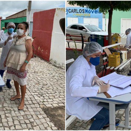 Saúde de Vila Nova realiza campanha de vacinação contra gripe