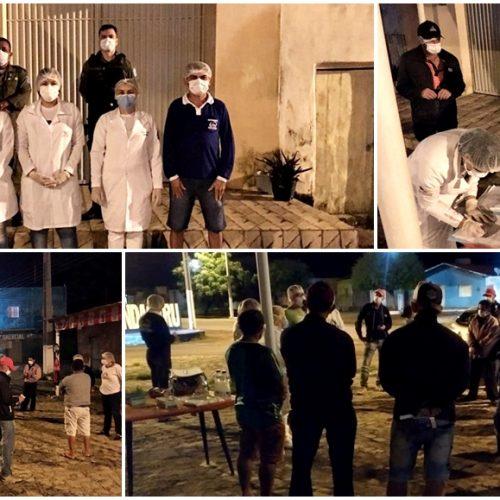 Prefeito Dr. Jonas envia equipe de saúde para monitorar chegada de pessoas em São Julião