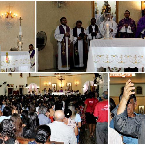 Padre Antônio Mendes é empossado pároco de Santa Ana, em Monsenhor Hipólito; veja fotos