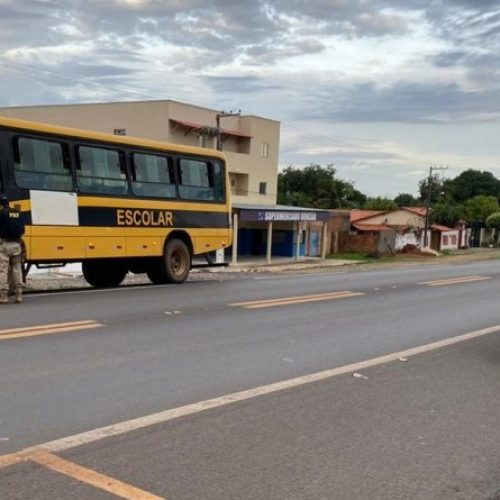 PRF realiza a 'Operação Volta às Aulas' e fiscaliza ônibus escolares no Piauí